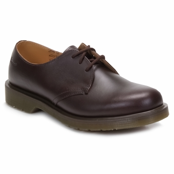Smart Shoes Dr Martens 1461 3 EYE SHOE Brown 350x350