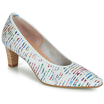 Shoes Women Heels Perlato MORTY White
