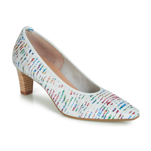 Shoes Women Heels Perlato MORTY White