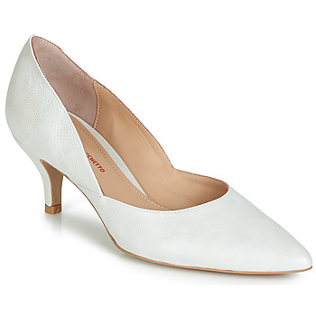 Shoes Women Heels Perlato MOLI White