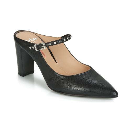 Shoes Women Sandals Perlato MALDINI Black