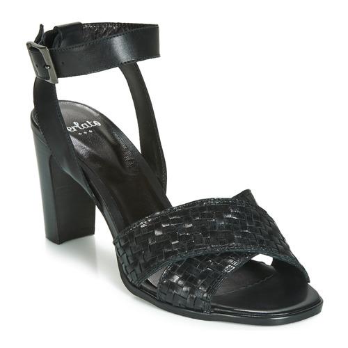 Shoes Women Sandals Perlato DOMINIKA Black