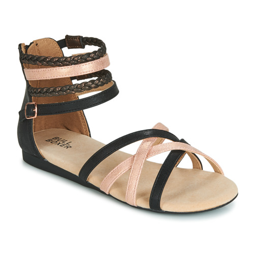Shoes Girl Sandals Bullboxer AED009 Black