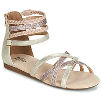 Shoes Girl Sandals Bullboxer AED009 Gold / Pink
