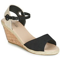 Shoes Women Sandals Spot on F2265 Black