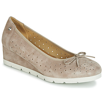 Shoes Women Flat shoes Stonefly MILLY 2 GOAT SUEDE Beige