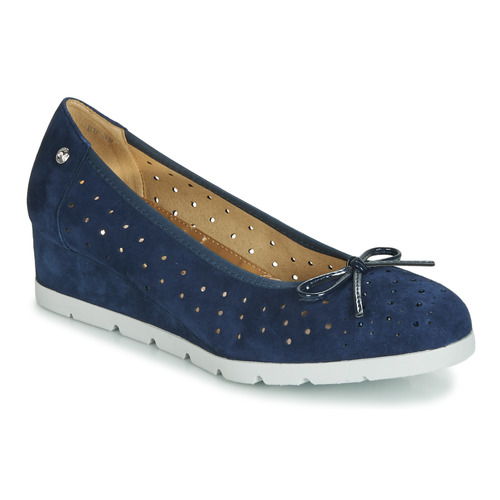 Shoes Women Flat shoes Stonefly MILLY 2 GOAT SUEDE Blue