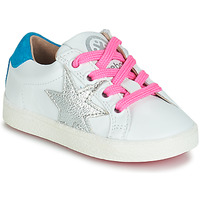 Shoes Girl Low top trainers Acebo's STARWAY White