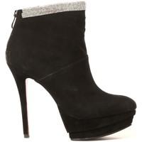 Shoes Women Ankle boots Ilario Ferucci Ilario Ferruci Bottines Fanelly Noir Black