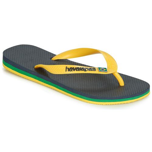 Shoes Flip flops Havaianas BRASIL LAYERS Marine