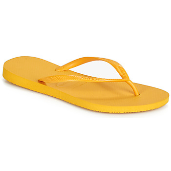 Shoes Women Flip flops Havaianas SLIM Yellow