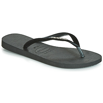 Shoes Women Flip flops Havaianas SLIM VELVET Black