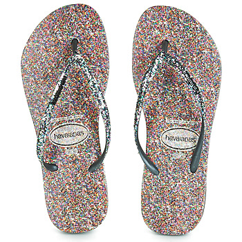 Shoes Women Flip flops Havaianas SLIM CARNAVAL Black