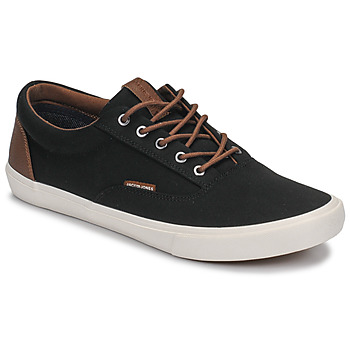 Shoes Men Low top trainers Jack & Jones VISION CLASSIC MIXED Black