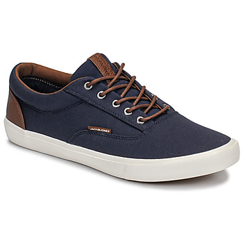 Shoes Men Low top trainers Jack & Jones VISION CLASSIC MIXED Marine
