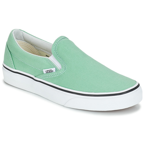 Shoes Women Slip-ons Vans CLASSIC SLIP-ON Green