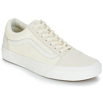 07aeec8274 Shoes Women Low top trainers Vans OLD SKOOL Beige