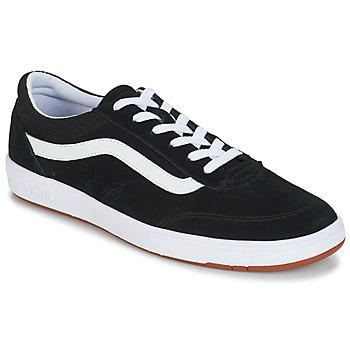 Shoes Men Low top trainers Vans CRUZE Black