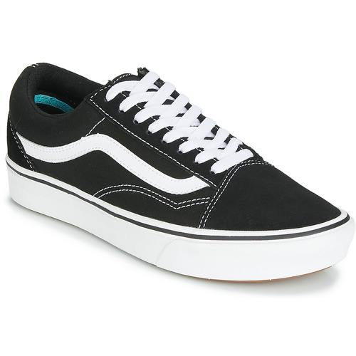 9ef881cb0165c Vans COMFYCUSH OLD SKOOL Black / White - Free delivery | Spartoo UK ...