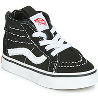Shoes Children Hi top trainers Vans SK8-HI ZIP Black / White