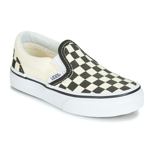 Shoes Children Slip-ons Vans CLASSIC SLIP-ON Black / White