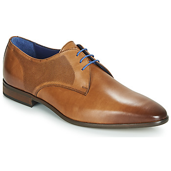 Shoes Men Derby Shoes Azzaro VERDOL Cognac