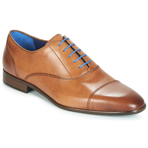 Shoes Men Brogues Azzaro RAELAN Cognac