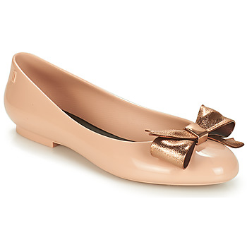 Shoes Women Flat shoes Melissa DOLL III Beige / Bronze