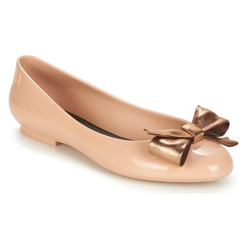 Shoes Women Flat shoes Melissa DOLL III Beige / Bronze