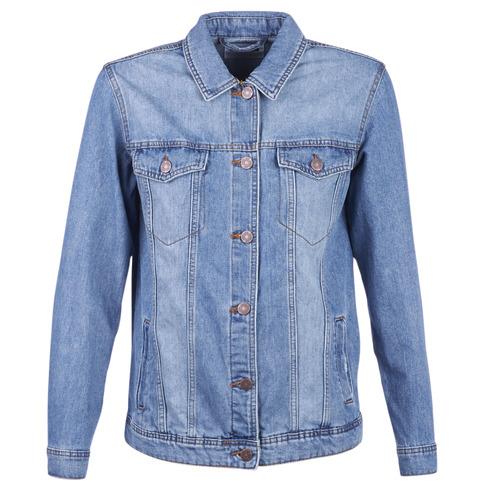 Clothing Women Denim jackets Noisy May NMOLE Blue / Medium