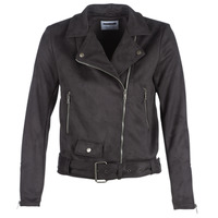 Clothing Women Leather jackets / Imitation leather Noisy May NMCHRIZZY Black