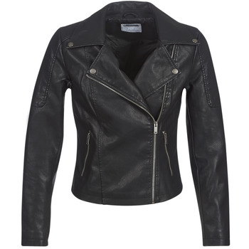 Clothing Women Leather jackets / Imitation leather Noisy May NMREBEL Black