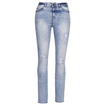 Clothing Women Boyfriend jeans Noisy May NMKIM Blue / Clear