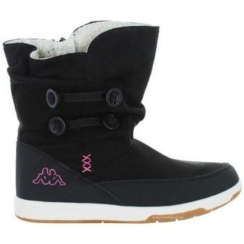 Shoes Children Snow boots Kappa Cream Black
