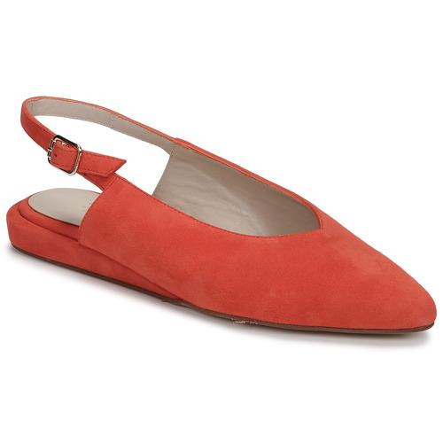 Shoes Women Flat shoes Fericelli IKIRUA Red
