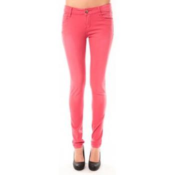 Clothing Women Jeans Dress Code Jeans D.Cherri JG-89080 Fushia Pink