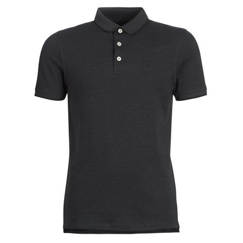 Clothing Men Short-sleeved polo shirts Jack & Jones JJEPAULOS Grey