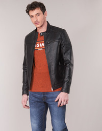 Clothing Men Jackets Jack & Jones JCOROCKY Black