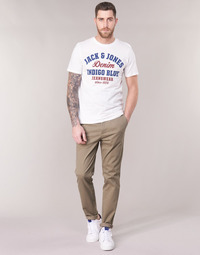 Clothing Men Chinos Jack & Jones JJIMARCO Beige