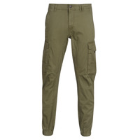 Clothing Men Cargo trousers Jack & Jones JJIPAUL Kaki