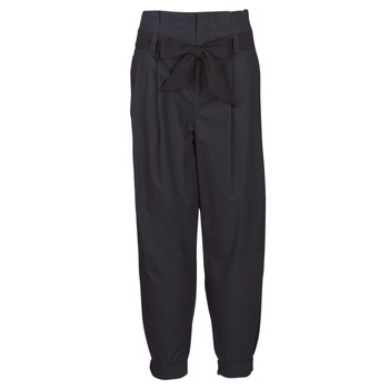 Clothing Women 5-pocket trousers Maison Scotch LONG BLACK PANT Black