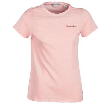 Clothing Women Short-sleeved t-shirts Maison Scotch SS T-SHIRT Pink