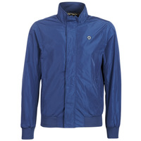 Clothing Men Jackets Scotch & Soda AMS BLAUW SIMPLE HARRINGTON JACKET Marine
