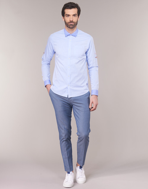 Clothing Men chinos Scotch & Soda RALSTONO Blue