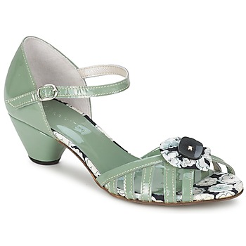 Shoes Women Sandals Mosquitos AMICALE Green