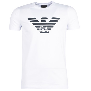 Clothing Men Short-sleeved t-shirts Emporio Armani YAYARAL White