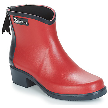 Shoes Women Wellington boots Aigle MS JUL BOT COL Red / Marine
