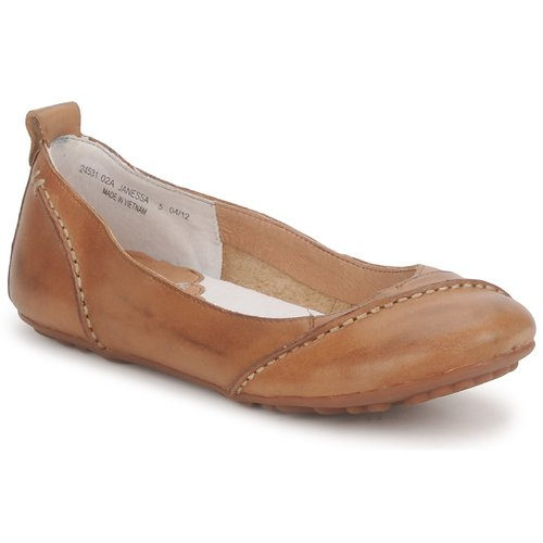 Hush Puppies Janessa Brown Free Delivery Spartoo Uk Shoes