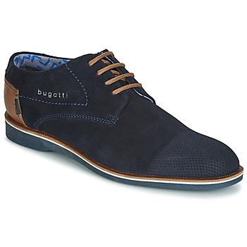 Shoes Men Derby Shoes Bugatti TOUZETTE Blue