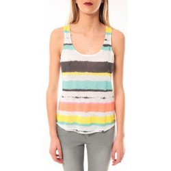 Clothing Women Tops / Sleeveless T-shirts Little Marcel Débardeur Tocada E15FTAN0217 Blanc White